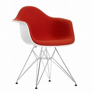 Vitra Eames Armchair : vitra eames plastic armchair dar upholstered ~ A.2002-acura-tl-radio.info Haus und Dekorationen