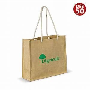 Sac Toile De Jute : sac shopping en toile de jute personnalis avec votre logo ~ Dailycaller-alerts.com Idées de Décoration