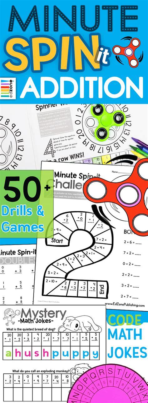 boring math drills beat  fidget spinner
