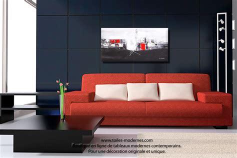 chambre noir et gris tableaux contemporains pour une déco minimaliste ultra tendance et design