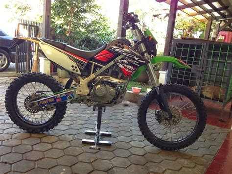 Modifikasi Klx Dtracker by Klx D Tracker Modifikasi Thecitycyclist