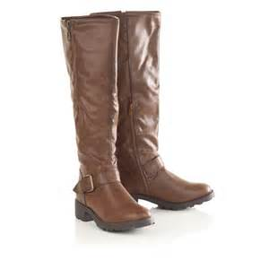 womens brown boots nz womens fleece lined faux leather brown boots
