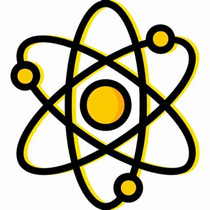 Science Atoms Svg Icon Physics Vector Atomic