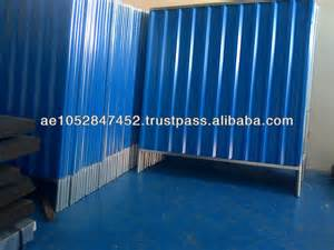 Corrugated Sheet Metal Fence Panels
