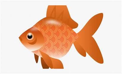 Goldfish Clipart Fish Transparent Clip Koi Clear