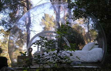 chambre bulle dans la nature des idées pour une nuit romantique le salon de thé le