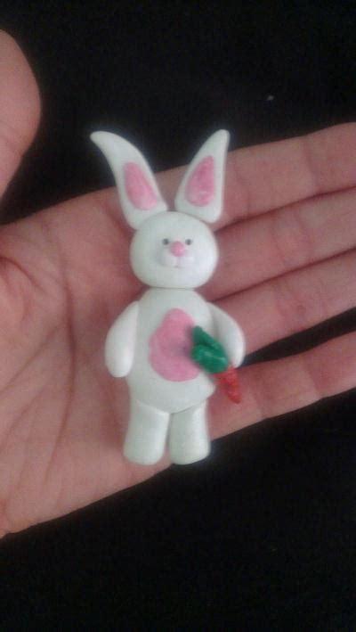 cr 233 ation lapin blanc en p 226 te fimo cr 233 ation modelage de