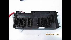2011 Mercedes Ml350 Fuse Box 1645403372