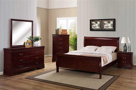 cherry bedroom set  furniture shack discount