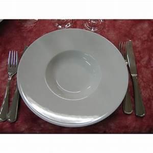 Assiette à Risotto : assiette a risotto ou degustation en porcelaine blanche centre vaisselle sarl la porcelaine de ~ Teatrodelosmanantiales.com Idées de Décoration