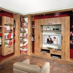 Wohnwand Mit Paneel Wohnwand C44 Mit Tv Paneel Und Schreibtisch