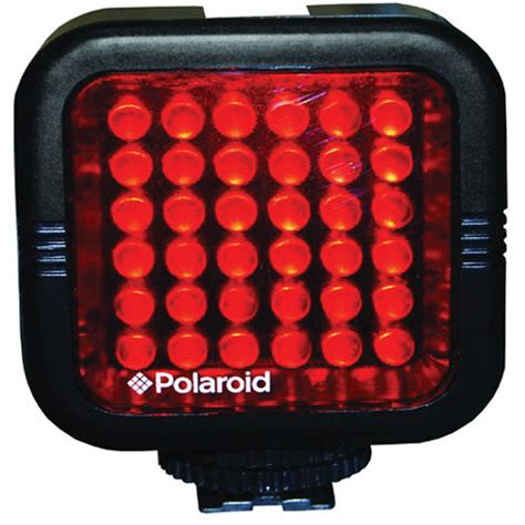 polaroid rechargeable ir night light led light bar plled36 b h