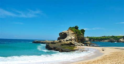 pantai klayar pacitan wisata alam tersembunyi  ujung