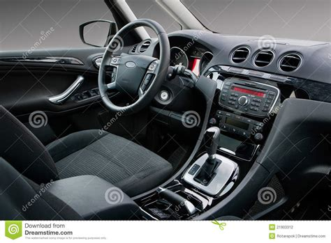 modern car interior stock photo image  auto shift