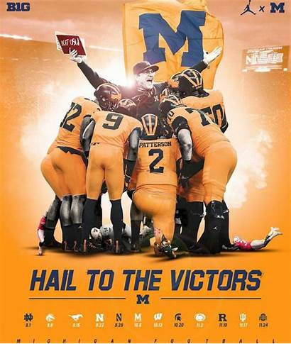 Football Michigan Uniforms Pat Patterson Wolverines University