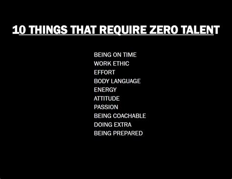 10 Things That Require Zero Talent  Referral Staffing
