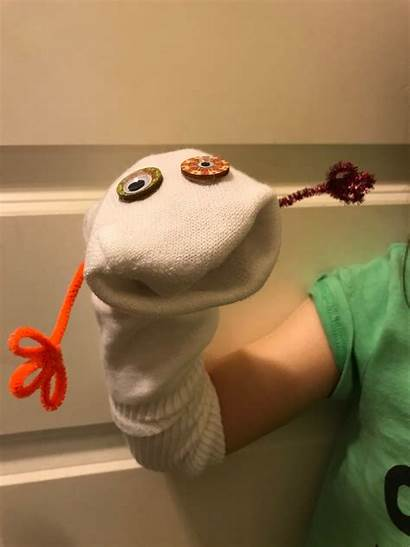 Sock Puppet Simple Making Puppets Fun Funny