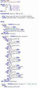 Solved  Write A Vhdl For  U201ccombination Lock U201d State Machine