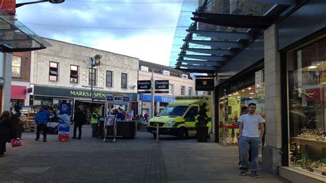 ambulance  called  fremlin walk maidstone
