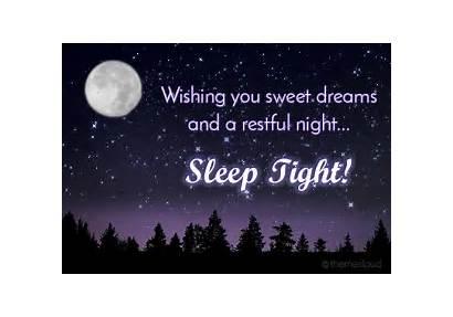 Night Dreams Sweet Restful Wishing Goodnight Animated