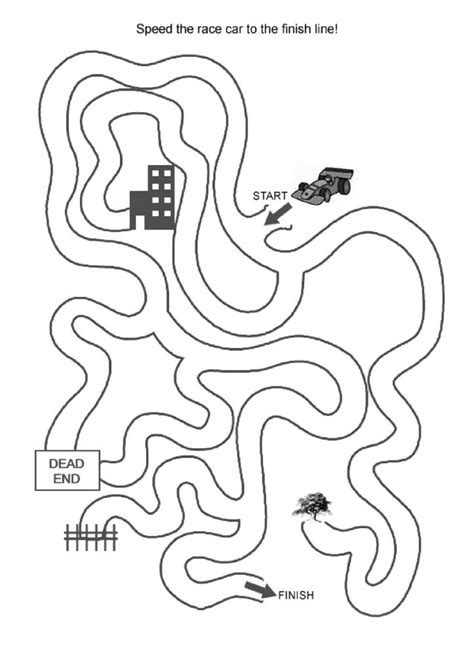 easy mazes printable mazes  kids  coloring pages  kids