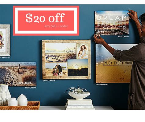 Shutterfly Coupon | $20 Off $20+ Purchase :: Southern Savers