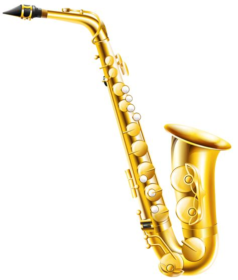 Saxophone Clipart Saxophone Clipart Transparent Pencil And In Color