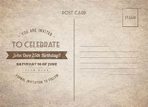 Vintage Birthday Postcard by NishaMehta | GraphicRiver