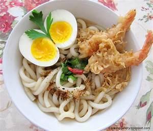 Image Gallery tempura udon