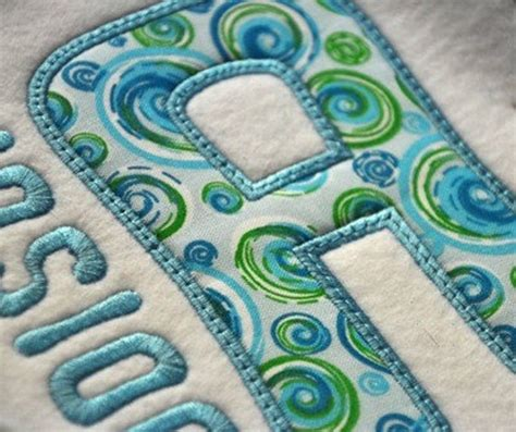 jolly applique font  sizes machine embroidery