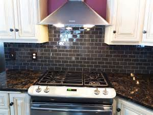 kitchen backsplash tile ideas subway glass hometalk glass subway tile kitchen backsplash idea