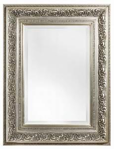 Licht Für Spiegel : genova luxe barok spiegel met windmotief licht zilver gekleurd kunstspiegel ~ Markanthonyermac.com Haus und Dekorationen
