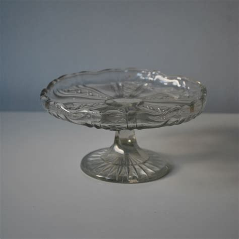 vintage cake stands small vintage glass cake stand cakery