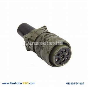 Military Specifitaion Connector 9 Pins Socket MS 5015 ...
