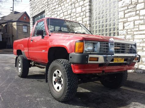 1986 Toyota 4x4 Pickup 350 Chevy V8 Swap Trd Off Road