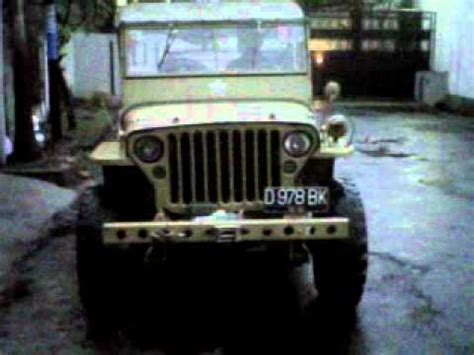 jeep willys 44 indonesia youtube