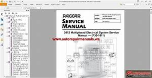 Paccar Multiplexed Service Manuals
