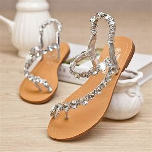 every bride will love to wear these wedding flat With flat dress sandals for weddings