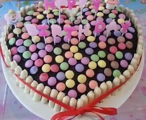 Image De Gateau D Anniversaire : g teau anniversaire smarties recette de g teau ~ Melissatoandfro.com Idées de Décoration