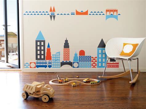 Creative Wall Murals For Kids