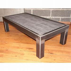 1000 images about tables basses on pinterest mesas With table basse teck et metal