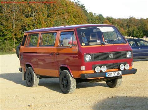 volkswagen t3 t25 vanagon vw galeria quot t3 syncro 4x4 quot syncro furgoneta volkswagen remolques