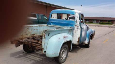 find new 1955 ford f100 shortbed rolling chassis in goodland kansas united states