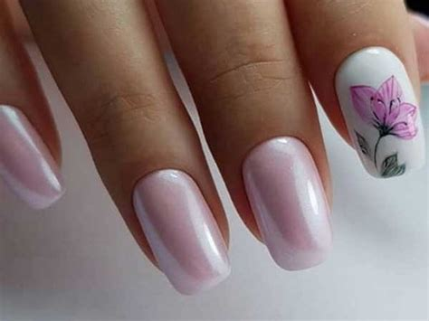 Красивый розовый маникюр ТОП150 фото лучших новинок и эксклюзивного дизайна маникюра розового цвета