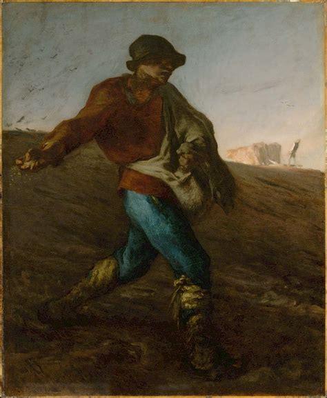 Jean Francois Millet The Sower Trivium Art History