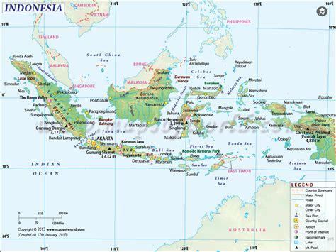 indonesia earthquakes map areas affected  earthquakes