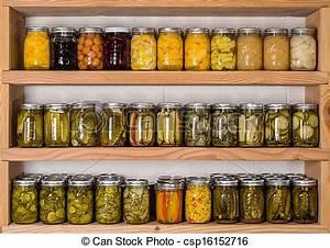 Regale Für Vorratsraum : stock fotografie von lebensmittel eingemacht lagerung ~ Michelbontemps.com Haus und Dekorationen