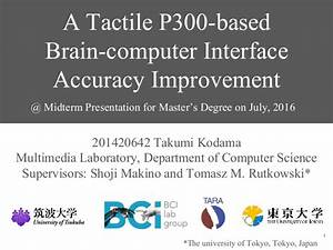 A Tactile P300-based Brain-Computer Interface Accuracy ...