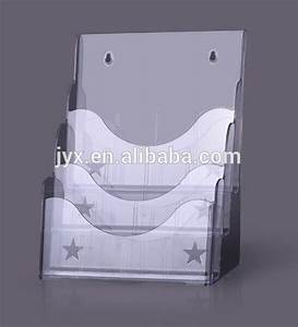 a5 size clear acrylic wall mount document holder buy With clear plastic wall mounted document holder