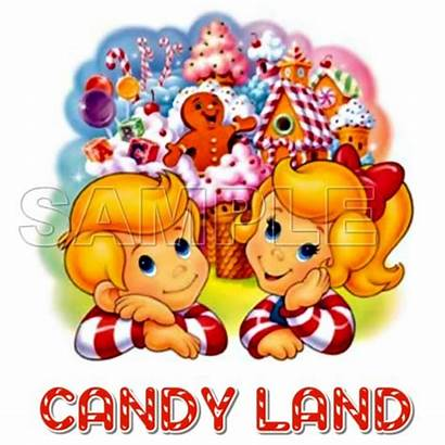 Candy Land Iron Shirt Decal Transfer Transfers